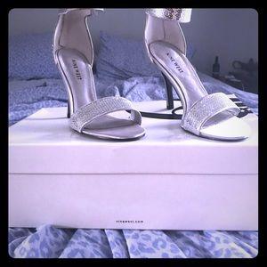 Nine West sequin heels
